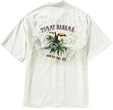 Tommy Bahama Toucan Do It Embroidered Short-Sleeve Silk Shirt