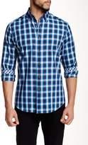 James Tattersall Wishbourne Plaid Long Sleeve Modern Fit Shirt