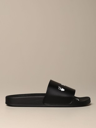 Off-White Off White Slipper Rubber Sandal In