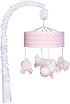 Trend Lab Pink Sky Chevron Musical Mobile