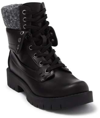 Mia Nicolas Knit Cuff Boot