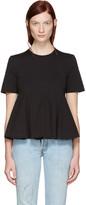 Edit Black Godet T-shirt