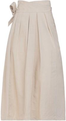 MARK KENLY DOMINO TAN 3/4 length skirts