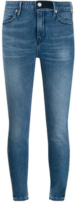 RtA Cropped Skinny Jeans
