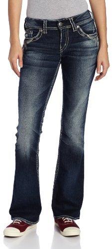 Silver Jeans Juniors Suki Dark Wash Bootcut Jean
