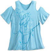 Disney Blue Fairy Fashion Tee for Women by Designer Collection