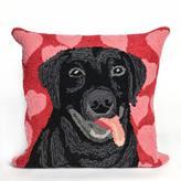 """Liora Manne Frontporch Puppy Love 18"""" Pillow - Valentine"""