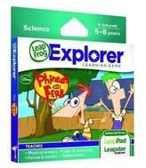 Leapfrog Expl Learning Game Phineas Fer