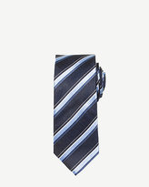 Le Château Stripe Silk Skinny Tie