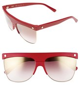 MCM Women's 60Mm Aviator Sunglasses - Black Visetos