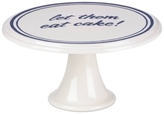"Kate Spade Order's Up ""let them eat cake"" Cake Plate"