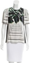 Peter Pilotto Digital Print Silk Top w/ Tags