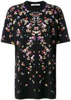 Givenchy Columbian-fit poppy print T-shirt