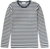Enlist Oscar Striped Cotton-Jersey T-Shirt