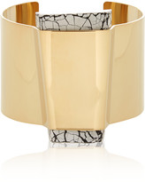 Isabel Marant Gold-plated resin cuff