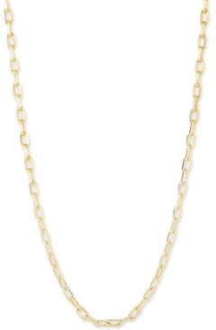 """CHARMBAR Link Chain Necklace, Adjustable 16"""" - 20"""""""