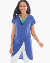 Chico's Knotted-Front Tunic