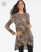Chico's Animal Button-Back Tunic