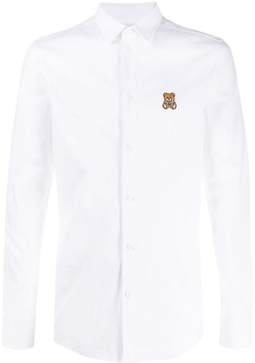 Moschino Teddy Bear-Patch Shirt