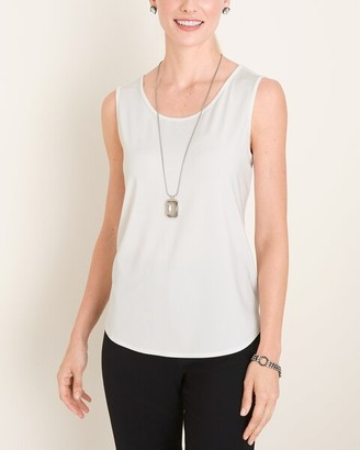 Travelers Collection Jersey Convertible Tank