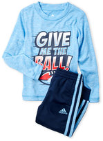 adidas Toddler Boys) Two-Piece Give Me The Ball Performance Set