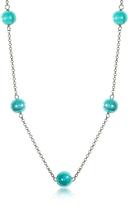 Antica Murrina Veneziana Perleadi Turquoise Murano Glass Beads Necklace