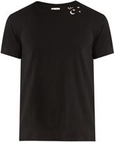 Saint Laurent Crew-neck cotton-jersey T-shirt