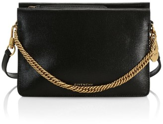 Givenchy Cross3 Leather & Suede Crossbody Bag