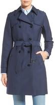 Cole Haan Women's Military Trench Coat