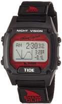 Freestyle 'Tide' Quartz Plastic and Nylon Sport Watch, Color:Black (Model: 10027113)