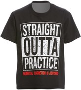 AMBRO Manufacturing Youth Unisex Short Sleeve Straight Outta Practice Swim Tee Shirt 8147907