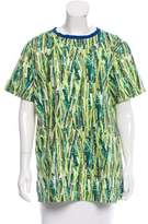 Stella Jean Printed Short Sleeve Top
