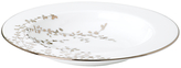 Kate Spade Gardener St Platinum Bone China Pasta Bowl, Silver/ White
