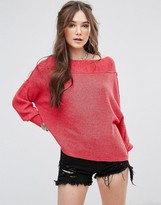 Free People Alana Slouchy Knit Jumper