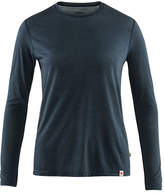 Fjallraven Navy Womens High Coast Lite LS Top - XS.