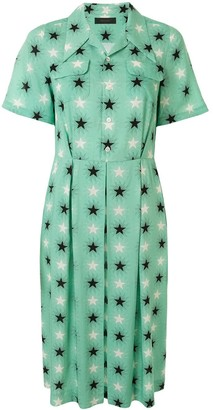 Undercover Star Pleated Dress