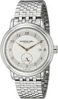 Raymond Weil Men's 2838-S5-05658 Maestro Analog Display Swiss Automatic Watch