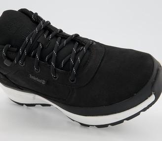 Timberland Field Trekker Low Hiker Boots Black Nubuck