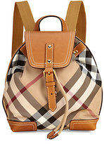 Burberry Kid's Check Backpack