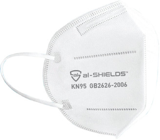 al-SHIELDS KN95 Respirator Face Masks 10 Pack