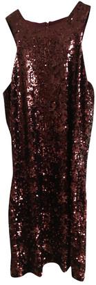 By Malene Birger Burgundy Glitter Dresses