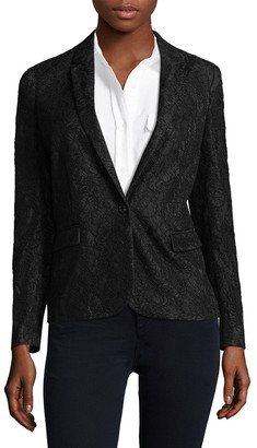 The Kooples Bliss Lace Blazer