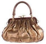 Marc Jacobs Snakeskin Stam Bag