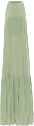 Tibi Silk-crepe dress