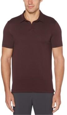 Perry Ellis Men's Big & Tall Stretch Open-Collar Polo Shirt