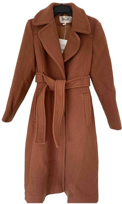 Diane von Furstenberg Brown Wool Coats