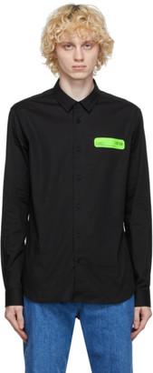 Versace Black Poplin Shirt