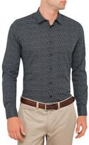 J. Lindeberg Daniel Raw Silk Shirt