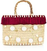 MARRI LONDON Amily Pom Pom Medium Tote Bag