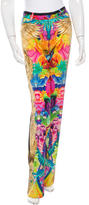 Roberto Cavalli Printed Silk Pants w/ Tags